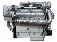 detroit 12V92T extened long block engine
